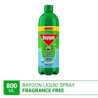 Baygon Liquid Spray Fragrance Free 800ml
