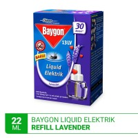 Baygon Liquid Electric Refill Lavender 22ml