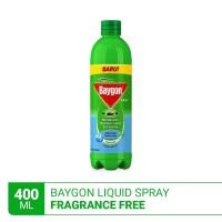 Baygon Liquid Spray Fragrance Free 400ml
