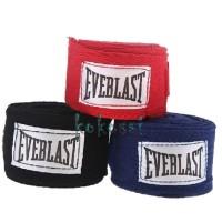 Hand Wrap Handwrap Everlast Everblast Muay Thai Boxing SEPASANG 3M - Merah
