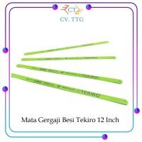 Mata Gergaji Besi 24 TPI Saw Tekiro 12 Inch / Hand Saw 12'' - 1 PCS