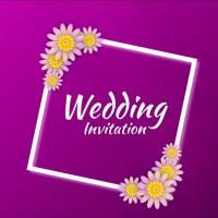UNDANGAN DIGITAL WEDDING INVITATION KODE A01