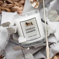 PREMIUM SCENTED CANDLE SMALL - 60gr - VEGETABLE NATURAL WAX