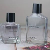 sepasang 2 botol zara aromatic future for man & women 100ml promo