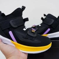 Sepatu Basket Nike Lebron Soldier 13 High PE Lakers