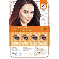 Butter Cream normal minus s/d -6.00 Softlens no ring 14.5 mm