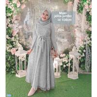 Maxi Jelita Jumbo /Baju Gamis Wanita Terbaru / Longdress Wanita
