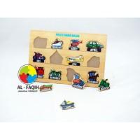 Mainan Edukasi Nama Bulan dan Transportasi