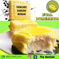 Pancake Durian mini satuan / Non Cream / Asli Durian Medan