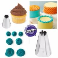 spuit wilton ori no 4B spuit bintang kue kering cupcake kerang kue sus