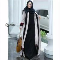 Baju gamis wanita syari long dress muslimah casual jubah terlaris