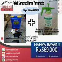Semprot Hama Electric Knapsack Sprayer Tangki Semprot Hama Yamamoto