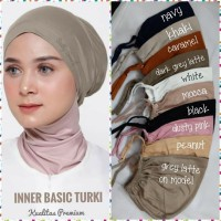 Inner basic Turki( daleman ciput )ikat tali belakang kaos premium