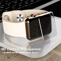 Tempered Glass Apple Watch 3D FULL COVER CURVED 42mm 38mm Anti Gores