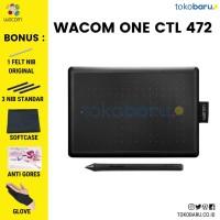Wacom Pen tablet CTL-472 Small + Bonus Garansi Resmi 1 Tahun