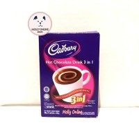 Cadbury Hot Chocolate Drink 3in1 90gr / Choco Drink / Sachet