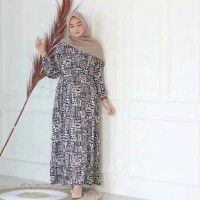 Gamis Bangkok / Gamis Rayon Viscone / HomeyDress / Homey Dress Etnik /