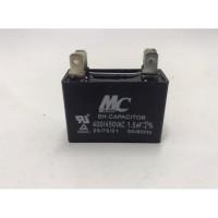 Kapasitor Capacitor Kotak 1.5 uF Micro 400/450VAC 400 Volt 50/60Hz