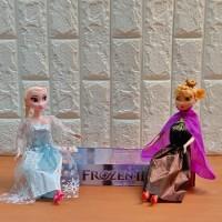 Mainan Anak Boneka Barbie Frozen 2 Elsa Anna Satuan