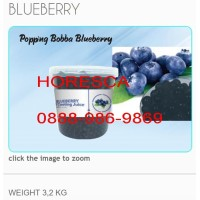 Popping boba 3.2kg Blueberry Import Taiwan
