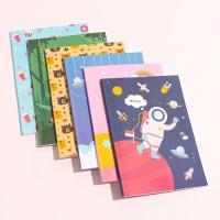 Buku Tulis Diary Notebook Agenda Planner Sekolah Anak Gambar Murah - Biru Cupcake