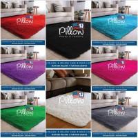 Karpet bulu rasfur pillow