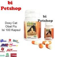 TERMURAH Doxy cat obat flu kucing 1botol isi 100 Im Organic Imo