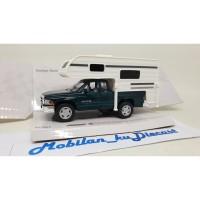 Diecast Dodge Ram Truck Camper Kinsmart 1:38