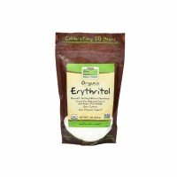 Now Foods: Organic Erythritol 454 Gram