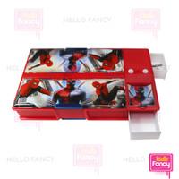 Tempat Pensil / Kotak Pensil Magnet Jumbo + Sharpener CC7803