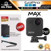 GoPro MAX 360 Action Cam - Insta kamera 360 Paket Baterai & 32Gb