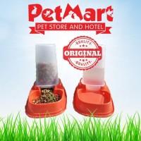 PET DISPENSER tempat makan minum kucing anjing ANTI SEMUT 1.5LT