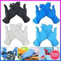100pcs Disposable Nitrile Gloves Medical Examination