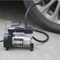 kompresor kecil / mini kompressor pompa angin ban mobil motor sepeda