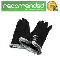 Sarung Tangan Wanita Touch Screen Winter Women Gloves / Hitam