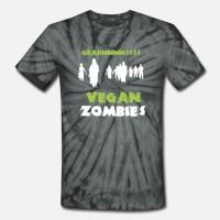 Kaos Vegan Zombies - Grainnnnssss T-Shirt