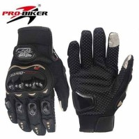 New Sarung Tangan Motor Probiker Full Pro Biker Glove Touch Screen M