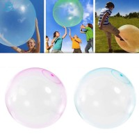 2 Pcs Bubble Ball Balloons Tear Resistant 25cm Play Toy Gift for