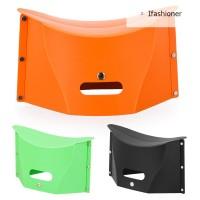 Kursi Lipat Portable Multifungsi Bahan Plastik untuk Outdoor /