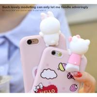 3D Intip Case / Peep Case Disney Series Vivo Y71 Y81 Y83
