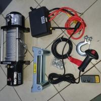 Winch off road heavy duty 24volt 13500lbs garansi