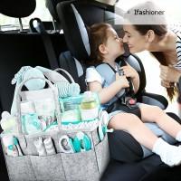 Large Baby Diaper Caddy Storage Organizer for Nursery Portable