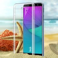 Imak Hard Case Plastik Bening Tahan Lama untuk Samsung Galaxy A6 +