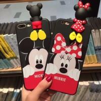3D Intip Case / Peep Case Disney Series Vivo V7 V7 Plus V9