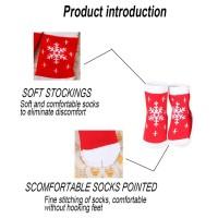 Kaos Kaki Anak Bahan Tebal Motif Natal untuk Musim Dingin