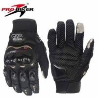 Sarung Tangan Motor Probiker Full Pro Biker Glove Touch Screen MCS-0