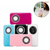 Mini Air Conditioner Cooler Cooling Fan Hand Held Portable USB