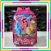 Tas Pony Pink Anak Cewek Playgroup TK SD Piknik Motif Lucu Murah