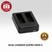 Dual Battery Charger For Go Pro 4