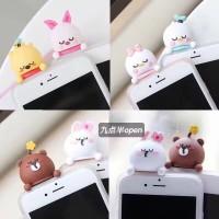 3D Intip Case / Peep Case Disney Series Oppo F1S F3 F5 F7 F9